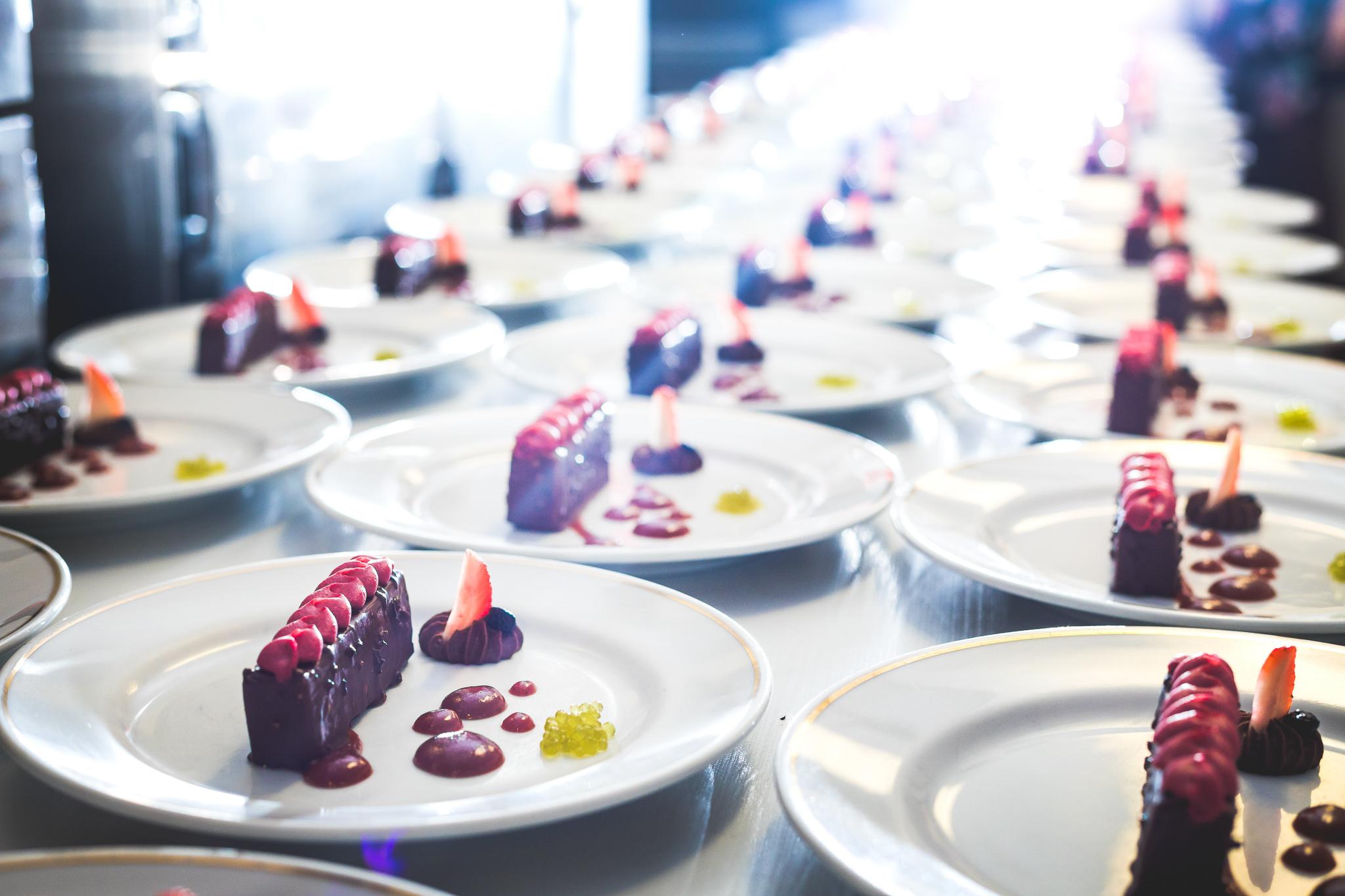 Gastronomia e organização de eventos